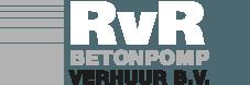 RvR Betonpompverhuur Logo